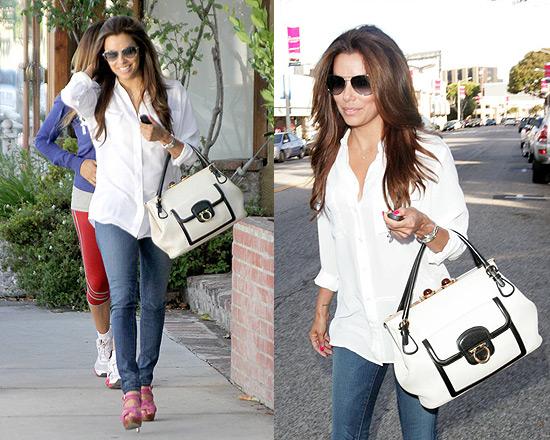 Eva Longoria in J Brand Skinny Jeans
