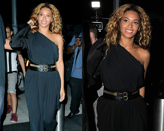 Beyonce Knowles in Lanvin Jumpsuit
