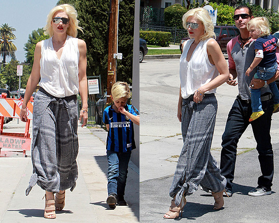 Gwen Stefani in L.A.M.B.™ harem pant