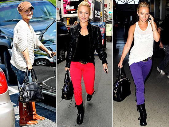 Hayden Panettiere Loves Rebecca Minkoff Morning After Mini Handbag