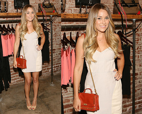 Lauren Conrad in Rebecca Minkoff Claudia Dress