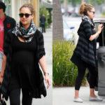 Jessica Alba in One Grey Day Sherry Sweater