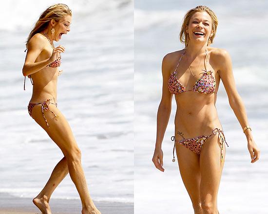 LeAnn Rimes in Luli Fama Besos Dulces Bikini
