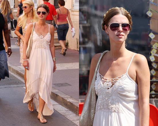 Nicky Hilton wearing Gypsy 05 Elyse Dress in St. Tropez