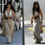 Vanessa Hudgens in Gypsy 05 Angelina Maxi Skirt