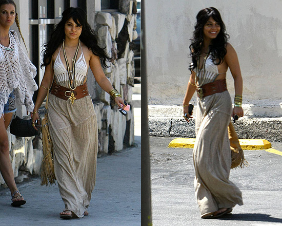 Vanessa Hudgens in Gypsy 05 Angelina Maxi Skirt