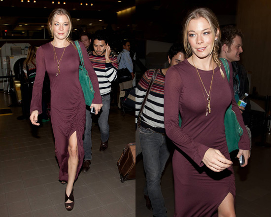 LeAnn Rimes in A.L.C. Dary Long Dress