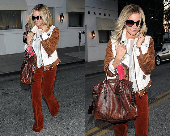 Ashley Tisdale wearing Wink Tiffany Jacket
