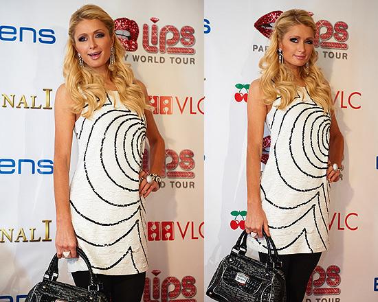 Paris Hilton in Rachel Zoe Peggy Sequined Shift Dress