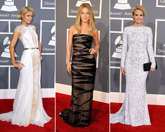 2012-grammys-paris-hilton-julianne-hough-carrie-underwood