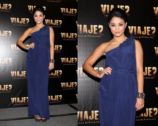 Vanessa Hudgens in Rebecca Taylor Sweet Rose Gown