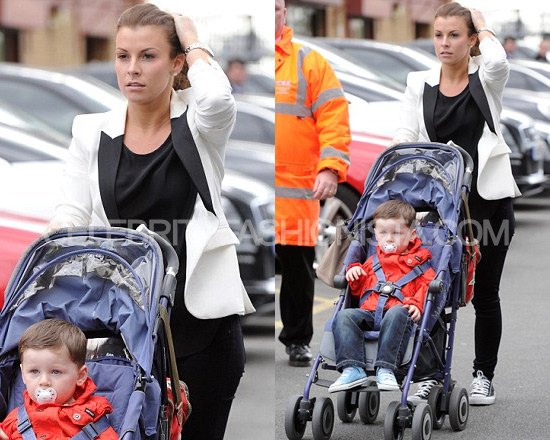 Coleen Rooney wearing Twenty8twelve Hawkworth Jacket