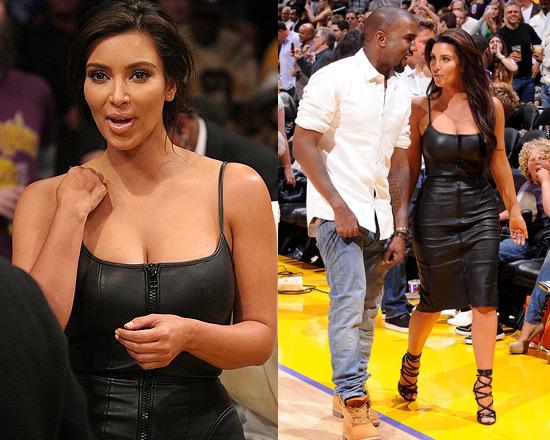 kim-kardashian-Givenchy-Stretch-Nappa-Leather-Dress