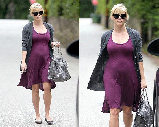 Reese Witherspoon in Michael Lauren Brighton Swing Tail Dress