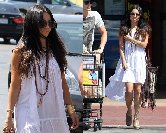 Vanessa Hudgens wearing Local Celebrity Windsong Dress