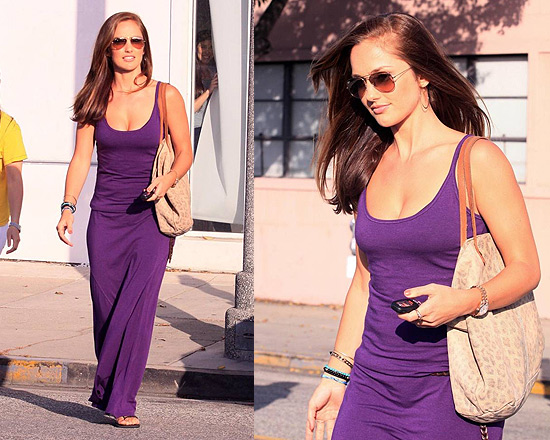 minka-kelly-victorias-secret-maxi-tee-dress