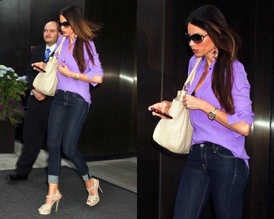 Sofia Vergara steps out in NYC with Prada Side-Pocket Hobo