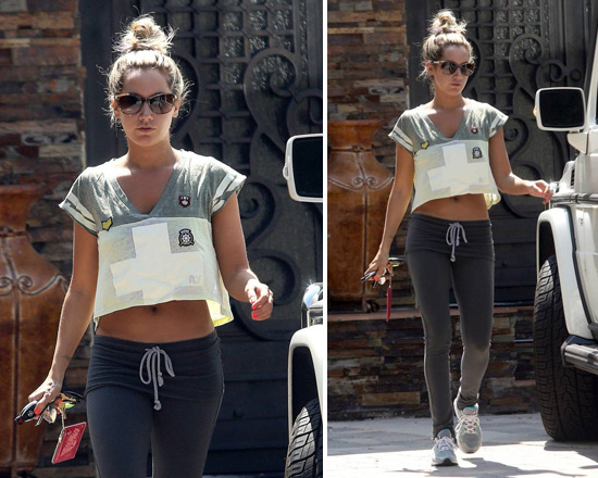 ashley-tisdale-Rebel-Yell-RY-Cross-Crop-Top