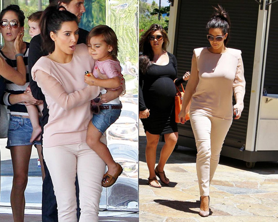 kim-kardashian-Lanvin-Silk-Cady-Long-Sleeve-Blouse