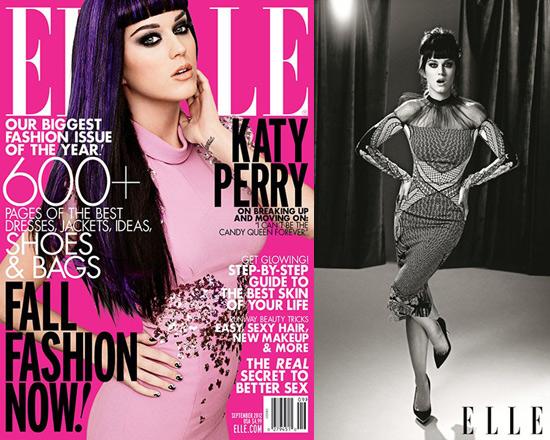 katy-perry-elle-2012-Bottega-Veneta-Embellished-Crepe-Mid-Length-Dress