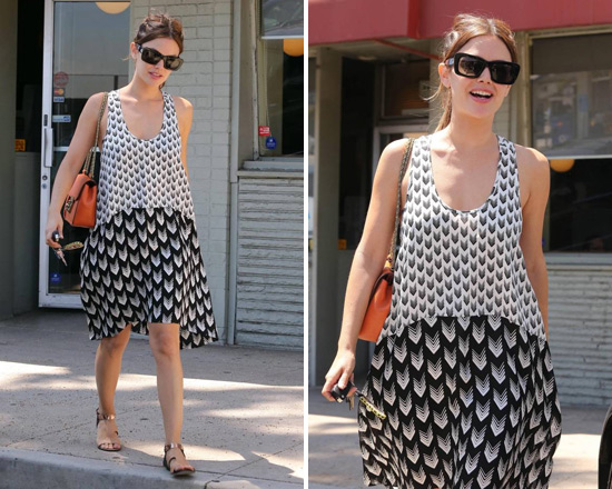 rachel-bilson-Rag-and-bone-Mercer-Print-Sleeveless-Dress