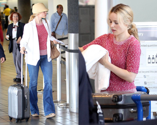 Rachel McAdams in Marc by Marc Jacobs Bobbie Sweater