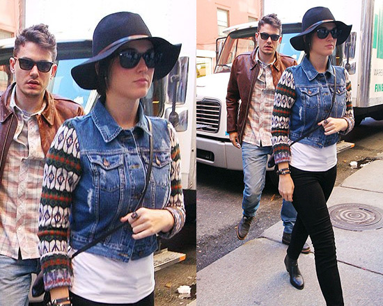 Katy Perry steps out in Free People Cypress Jacket