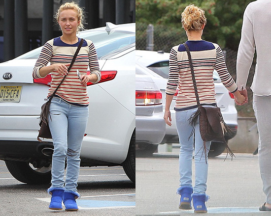Hayden Panettiere steps out wearing Étoile Isabel Marant Malo Sweater