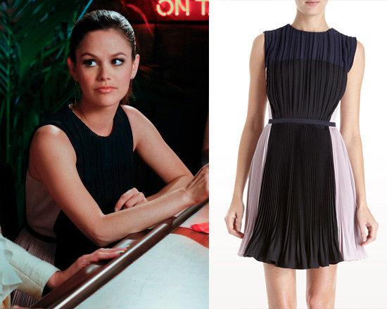 Rachel Bilson wearing O'2nd Pleated Colorblocked Dress on Hart of Dixie