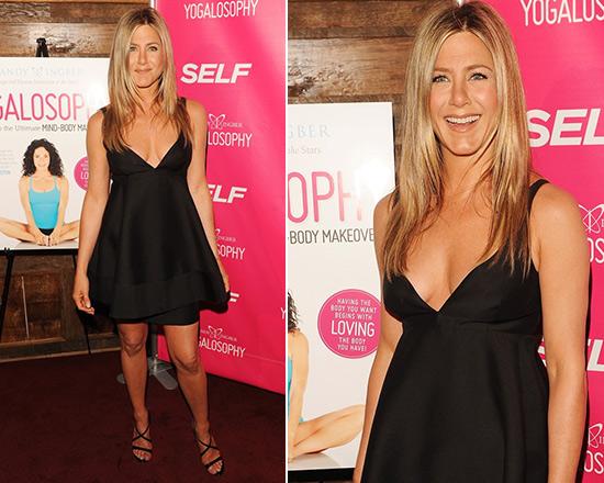 Jennifer Aniston wearing Stella McCartney Babydoll Dress