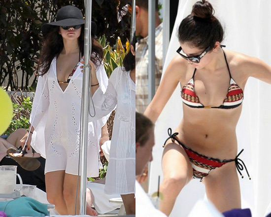 selena-gomez-Vix-swimwear-Solid-Pipa-Caftan-Cover-Up-Angola-Tri-Ripple-Bikini-Top