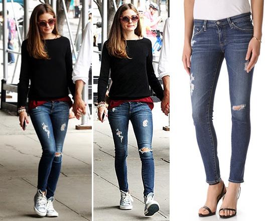 AG Adriano Goldschmied The Stilt Cigarette Jeans