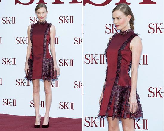 kate-bosworth-Christopher-Kane-Feather-Silk-Satin-Dress