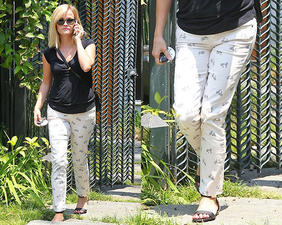 50% OFF Paige denim Kylie Cropped Retro Cruiser Skinny Jeans as seen on Reese Witherspoon