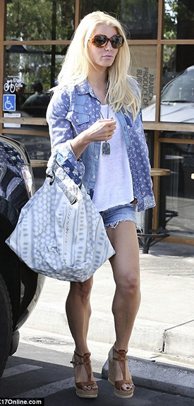 051f007bfcc Jessica Simpson Style and Fashion – CelebrityFashionista.com