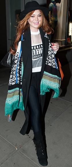 773479c10dff Lindsay Lohan Style and Fashion – CelebrityFashionista.com