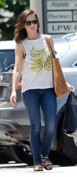 minka-kelly-Elkin-Langley-Fox-Banana-Rib-Cage-Muscle-Tank