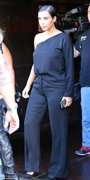 kim-kardashian-Maison-Martin-Margiela-asymmetrical-one-shoulder-jumpsuit