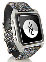 nicole-lapin-cash-silver-band-dress-smartwatch