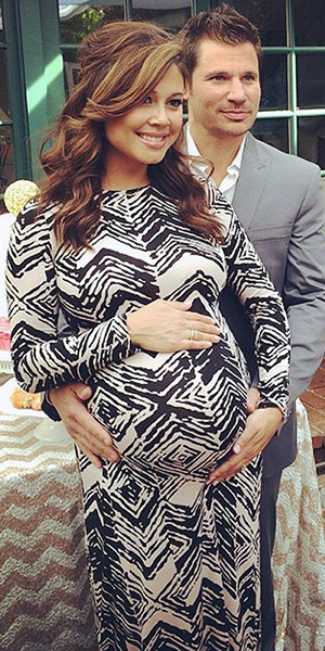 vanessa-lachey-Rachel-Pally-Stormy-Print-Dress