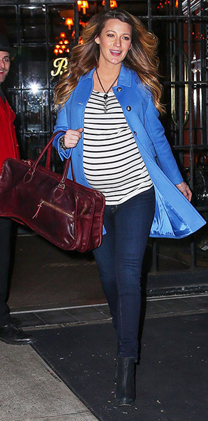 blake-lively-Gucci-Blue-Wool-Coat