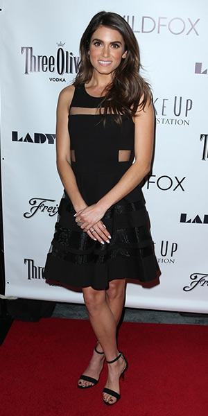 nikki-reed-Parker-Conner-Sheer-Inset-Dress
