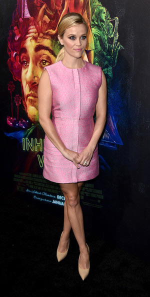 reese-witherspoon-Balenciaga-Tweed-jacquard-sleeveless-dress