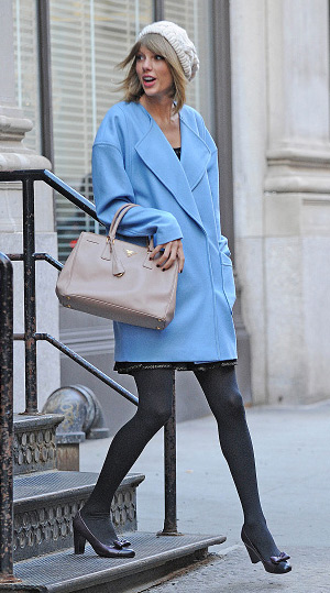 Asos Light Blue Boyfriend Coat Celebrityfashionista Com