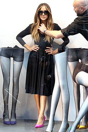 SJP by Sarah Jessica Parker SJP 'Fawn 100' Pumps Bloomingdale's photo shoot - May 12, 2015