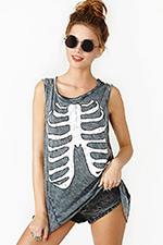 Nasty Gal Inside Out Tank Top as seen on Nicole Guerriero