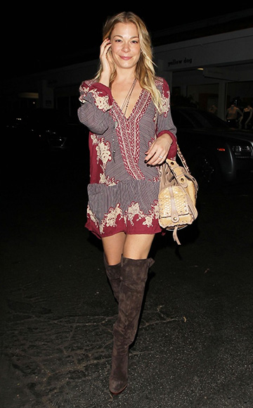 Chlo 233 Dark Brown Suede Over The Knee Boots
