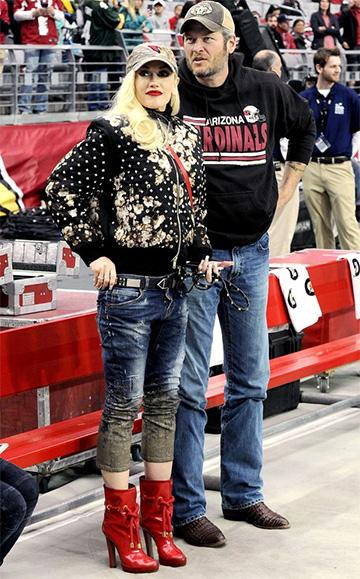 Givenchy Babysbreath Bomber Jacket as seen on Gwen Stefani