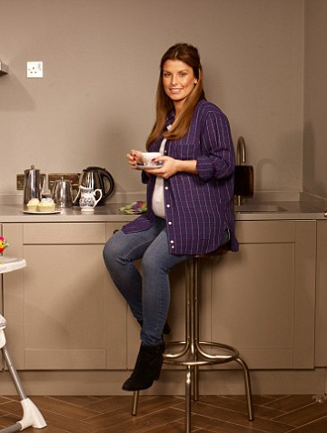 Isabel Marant Pablo Flannel Shirt as seen on Coleen Rooney