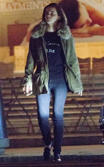 Bella Freud Je T'Aime Jane Sweater as seen on Emma Watson
